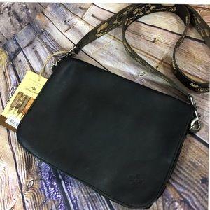 Patricia Nash Bag & Guitar strap bundle! Black